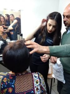 Servizio di make-up e hairstylist